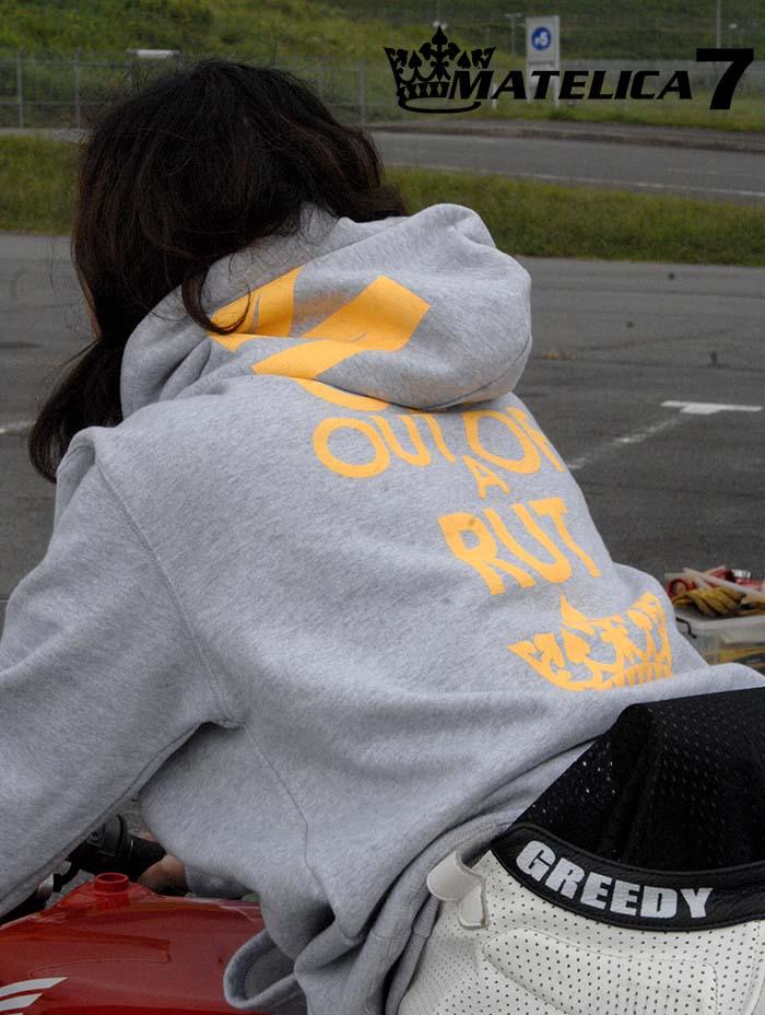 マテリカセブン バイク女子 パーカ
