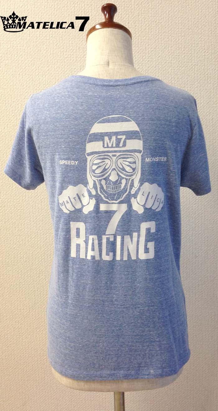 マテリカレーシングレディースTシャツ 7LT15608