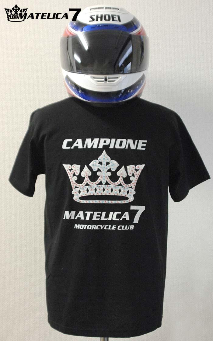 バイクTシャツ 7MT15606_BLK