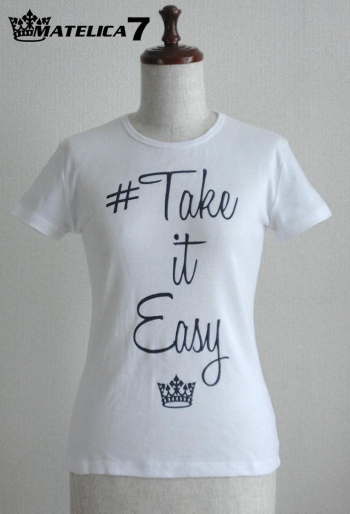 Tシャツ L7T15601_WHT